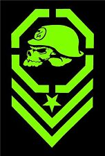 Metal Mulisha GREEN Decal Sticker Moto-X Dirt Bike Motocross Off Road ATV Army