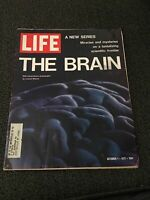 LIFE MAGAZINE OCTOBER 1, 1971 THE BRAIN A NEW SERIES GOOD CONDITION
