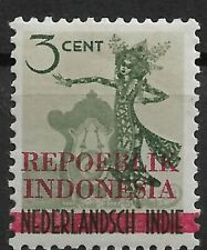 Ned. Indie Repoeblik Indonesia Java- Madoera Zonnebloem 21