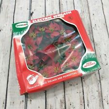 Vintage Beacon Electric Wreath Christmas Decoration Holiday Decor in Box Plastic