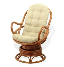 Awesome Rattan Swivel Chair For Sale Ebay Pabps2019 Chair Design Images Pabps2019Com