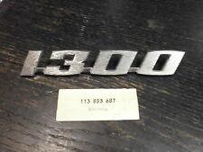 VW Maggiolino 1300, la scritta 1300, VW Nuovo NOS, VW OE parti n. 113 853 687