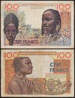 100 FRANCS 1956 AFRIQUE OCCIDENTALE FRANCAISE / FRENCH WEST AFRICA P46 AOF TOGO