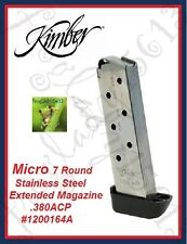 KIMBER Micro 7 Round Stainless Steel Extended Magazine .380ACP - #1200164A