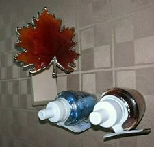 Bath & Body Works Fall Leaf Night Light Wallflower Plug Diffuser & 2 Bulbs