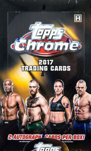 2017 Topps Chrome UFC Refractor Complete Your Set Choose From List 1-100