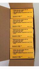 NEW Lot of (10) Hubbell Twist-Lock Receptacle L6-15R HBL4560 15A 250V 2P 3W Blk