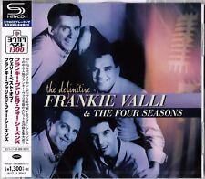 DEFINITIVE FRANKIE VALLI & THE FOUR SEASONS JAPAN 2017 RMST SHM CD - BRAND NEW