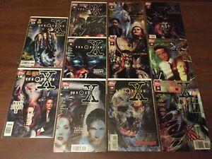 Lot of X-FILES comic books by TOPPS COMICS 013