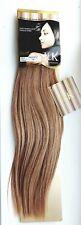 "NEW I & K Gold European Real Premium 100% Human Hair Extensions 14"" Colour 10"