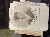 a1k ephemera 1917 ww1 small picture p t dean v c r n v r