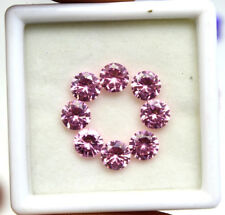 Tuesday Offer 12.10Ct EGL Certified Natural Pink Sapphire Gemstone Lot 8Pcs
