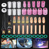 49pcs Gas Lens Collet Body Pyrex Glass Cup Kit For WP-17/18/26 TIG Welding Torch