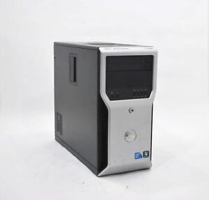 Dell Precision T1600 Xeon E3-1245 3.3GHz 8GB RAM 750GB HDD Win 10 Pro