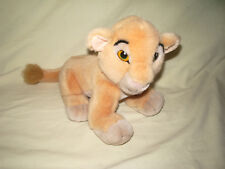 """ ANCIENNE PELUCHE OFFICIEL SIMBA ROI LION KING DISNEY 18 X 30 CM"