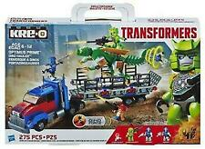 KRE-O A7796 Optimus Prime Dino Hauler Transformers Mini Figures RARE Hard
