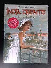 India dreams D'un monde à l'autre NEUF sous cello avec carnet croquis