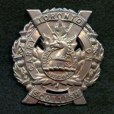 WW2 Canada Toronto Scottish Regiment Cap Badge