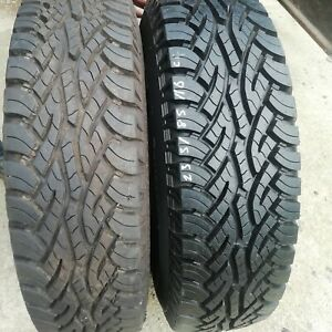 235/85/16 Continental Cross Contact Part Worn Tyres +13mm Of Tread Matching Pair