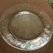 Set of 4 Duralex French Herb Salad Plates Made in France