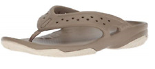 Crocs Mens Swiftwater Deck Flip Flops UK 10