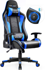 GTRACING Gaming Chair with Bluetooth Speakers Music Video Game Chair Audio