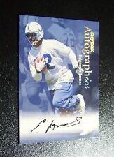 1999 Skybox Autographics Edgerrin James On-card Auto Rookie RC