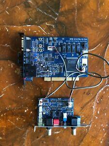 RME DIGI96/8 PAD Pci sound card w/ word clock module