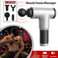 Massage Gun Percussion Massager 6 Speed Deep Tissue Muscle Vibrating Relaxing