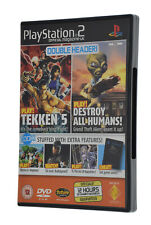 PlayStation 2 PS2 Games Demo Official UK Magazine #61 TEKKEN 5, WORMS, ARC OF...