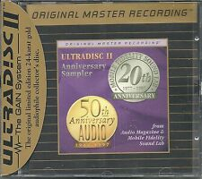 Various Ultradisc II Anniversary Sampler MFSL Gold CD Neu OVP Sealed SPCD 017