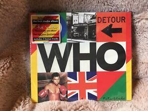 THE WHO - WHO - CD - DELUXE ALBUM - 2019 - 3 BONUS TRACKS, Slipcase. New Sealed