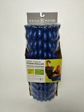 Gaiam Restore Deep Tissue Foam Roller Extra - Firm Texture Durable Hollow Core