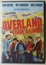 Three Mesquiteers Overland Stage Raiders (DVD, 2012) John Wayne