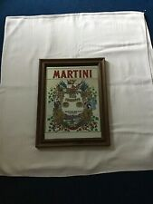 AN OLD MARTINI PLAQUE.Size 34cms X  26cms.