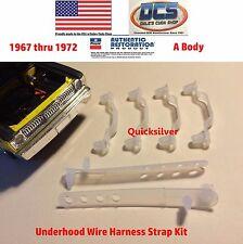1967 68 69 70 71 72 Barracuda Duster Underhood Wire Strap Retainer Kit MoPar USA