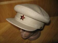 58da23f6cd990 Soviet Russian RKKA Visor Cap Reenactment Military Red USSR
