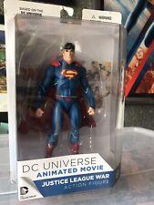 DC UNIVERSE JUSTICE LEAGUE WAR SUPERMAN ACTION FIGURE DC COLLECTIBLES BNIB