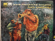 New Orleans Nights Louis Armstrong and the All Stars  33RPM  042816 TLJ