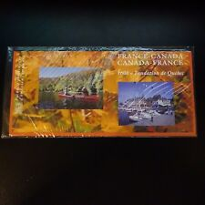 EMISSION COMMUNE FRANCE CANADA 2008 FONDATION DE QUEBEC SOUS BLISTER