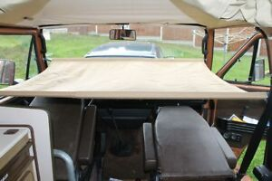 German Quality Cab Child Bunk 4 VW T25 Type 25 +strong canvas+fitting kit C9041