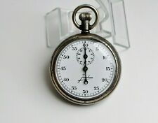 "VINTAGE WW2 MILITARY TORPEDO TIMER STOPWATCH CHRONOMETER ""JUNGHANS"" WORKING"