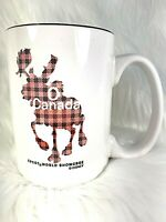 Disney Theme Park Epcot Showcase Coffee Mug O Canada Moose Red Black Plaid