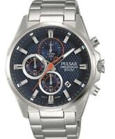 Pulsar Chronograph Stainless Steel Bracelet Mens Watch PM3059X1