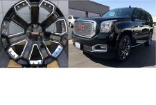 "22"" GMC Yukon Denali Wheels Rims Tires Chevy Silverado Sierra Tahoe Suburban New"