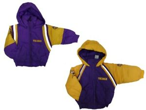 Minnesota Vikings Kids Plush Winter Jacket