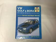 VW Golf & Bora Haynes Service Manual 2001 to 2003 9781844251698