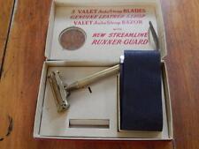 Vintage Valet Auto Strop Safety Razor, In Original Box, Has Strop, Superb!