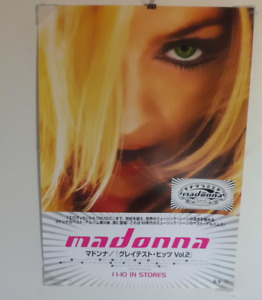 Madonna original POSTER JAPAN NM!