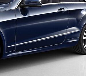 Chrome Door Side Moulding Trims for Mercedes Benz C207 facelift 13-17